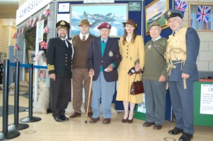 Battle of Britain weekend  visitors and veterans