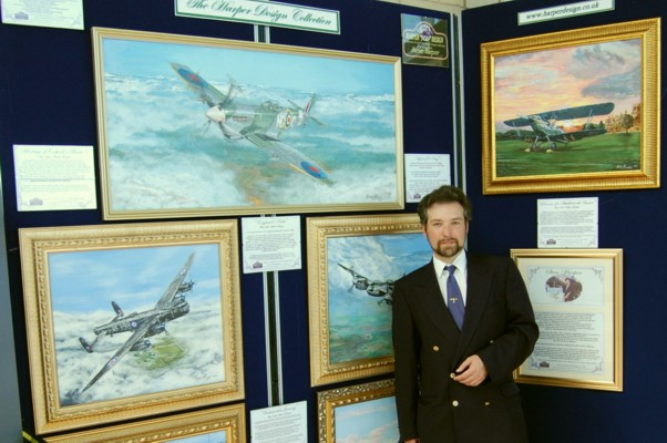 Steve with the Exhibition you will see at Cosford