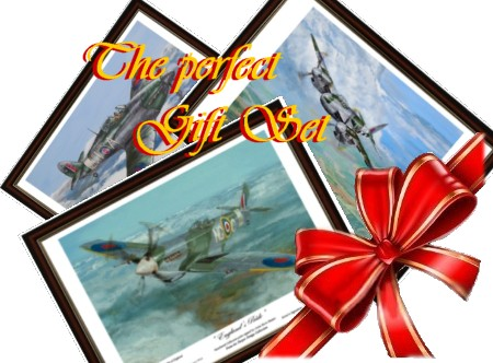 ww2 fighters gift set by Artist Steve Harper (c)