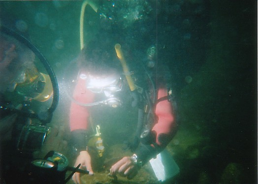 Steve Harper is a Deep Diving speciality  instructor
